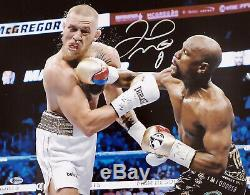 Floyd Mayweather Jr. Authentic Autographed Signed 16x20 Photo Beckett 157357