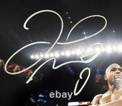 Floyd Mayweather Jr. Authentic Autographed Signed 16x20 Photo Beckett 157359