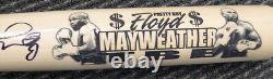 Floyd Mayweather Jr. Authentic Autographed Signed Cooperstown Bat Beckett 123605
