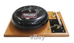 Floyd Mayweather Jr. Authentic Signed Ringside Bell Autographed BAS Witnessed