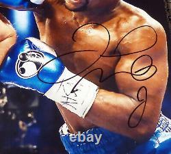 Floyd Mayweather Jr. Autographed 16x20 Photo Vs. Canelo Alvarez JSA WPP775513