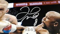Floyd Mayweather Jr. Autographed 16x20 Photo Vs. Conor McGregor JSA #WPP642580
