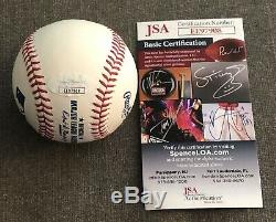 Floyd Mayweather Jr Autographed Baseball TMT TBE JSA BOXING