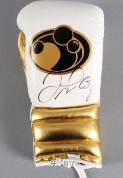 Floyd Mayweather Jr. Autographed Boxing Glove JSA Full LOA
