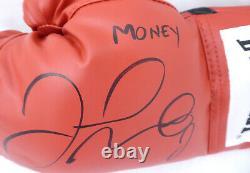 Floyd Mayweather Jr. Autographed Everlast Boxing Glove Lh Money Beckett 159651