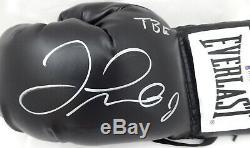Floyd Mayweather Jr. Autographed Everlast Boxing Glove Lh Tbe Beckett 159655