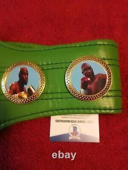 Floyd Mayweather Jr. Autographed Full-Size WBC Championship Belt, Beckett
