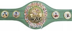 Floyd Mayweather Jr Autographed Full Size WBC Championship Belt COA BECKETT TMT
