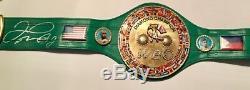 Floyd Mayweather Jr Autographed Full size WBC Diamond belt JSA LETTER