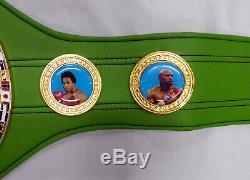 Floyd Mayweather Jr. Autographed Green Wbc Full Size Belt Money Beckett 159672