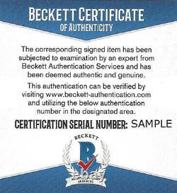 Floyd Mayweather Jr. Autographed Red Ibf Full Size Belt Tmt Beckett 159676