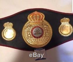 Floyd Mayweather Jr Autographed Signed Full Size WBA Boxing Belt BAS COA psa jsa