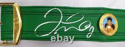 Floyd Mayweather Jr. Autographed Signed Green Wbc Full Size Belt Jsa 178294