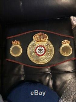 Floyd Mayweather Jr Autographed Signed WBA Boxing Belt Beckett Witnessed COA