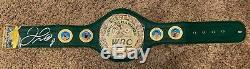 Floyd Mayweather Jr Autographed WBC Championship Belt COA Schwartz Sports