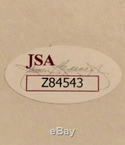Floyd Mayweather Jr. Autographed white Boxing glove full JSA LOA