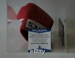 Floyd Mayweather Jr Boxing hand signed Everlast Glove Display Box w COA signiert