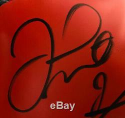Floyd Mayweather Jr. Conor McGregor Signed Boxing Glove Beckett PSA DNA + BAS