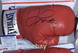 Floyd Mayweather Jr Signed Autograph Boxing Glove Red PSA/DNA Authentic