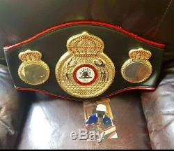 Floyd Mayweather Jr. Signed Autographed WBA Championship boxing Belt JSA CERT