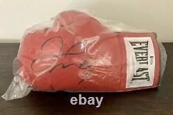 Floyd Mayweather Jr. Signed Everlast Boxing Glove Autographed AUTO Beckett COA