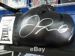 Floyd Mayweather Jr Signed Everlast Boxing Glove Beckett COA Auto Autographed