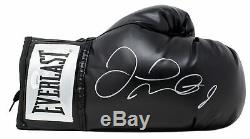 Floyd Mayweather Jr. Signed Everlast Right Hand Black Boxing Glove JSA