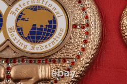 Floyd Mayweather Jr. Signed IBF Full-Size Championship Belt (JSA Holo) Autograph