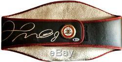 Floyd Mayweather Jr. Signed WBA championship boxing belt Beckett certified
