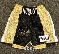 Floyd Mayweather Jr autograph signed Boxing Trunks BAS COA Beckett Witness