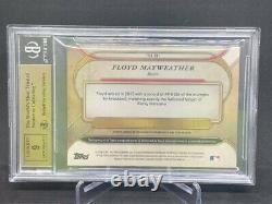 Floyd Mayweather Patch Auto 1/1 BGS 9.5 Gem Mint 49-0 One Of One Relic HOF