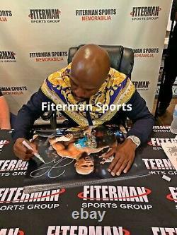 Floyd Mayweather Signed Autographed 16x20 Photo JSA Authenticated TBE 50-0