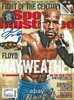 Floyd Mayweather Signed Autographed Sports Illustrated JSA Autentic SI Magazine