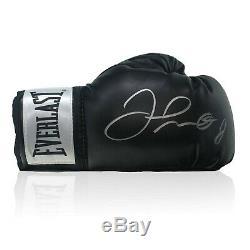 Floyd Mayweather Signed Black Boxing Glove Memorabilia