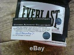 Floyd Mayweather Signed Black Everlast Boxing Glove withcoa