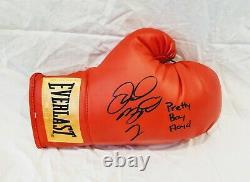 Floyd Mayweather Signed Boxing Glove PROOF BONUS PRETTY BOY FLOYD INSC Showtime