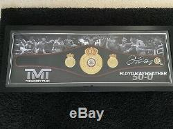 Floyd Mayweather Signed Full Size Replica WBA Boxing Belt With COA