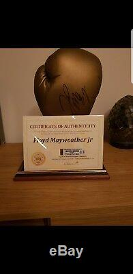 Floyd Mayweather Signed Glove With Coa