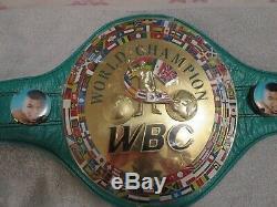 Floyd Mayweather Signed Wbc Boxing Belt Beckett Witness Hologram Gorgeous Auto