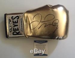 Floyd Money Mayweather Esigned Autographed Cleto Reyes Boxing Glove Beckett Coa