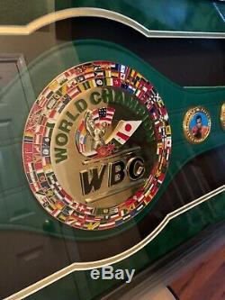 Floyd Money Mayweather Jr. Autographed WBC championship belt with COA