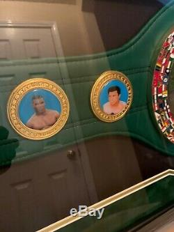 Floyd Money Mayweather Jr. Autographed WBC championship belt with COA