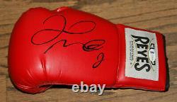 Floyd Money Mayweather Signed Auto Cleto Reyes Boxing Glove Bas Witness #wd96095