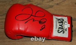 Floyd Money Mayweather Signed Auto Cleto Reyes Boxing Glove Bas Witness #wd96342