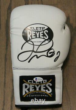 Floyd Money Mayweather Signed Auto Cleto Reyes Boxing Glove Bas Witnessed