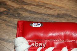 Floyd Money Mayweather Signed Auto Cleto Reyes Boxing Glove Psa #ai60617