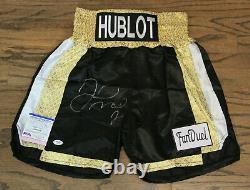 Floyd Money Mayweather Signed Autographed Auto Boxing Trunks/shorts Psa #ai60726