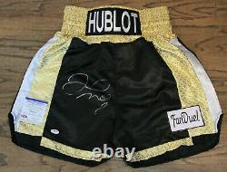 Floyd Money Mayweather Signed Autographed Auto Boxing Trunks/shorts Psa #ai60771