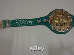 Floyd Money Mayweather autographed signed WBC Championship Belt Beckett BAS Auth