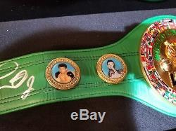 Floyd Money Mayweither Championship Belt Autographed And Custom Framed